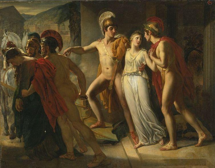 Жан-Бруно Гасье, «Кастор и Поллукс освобождают Елену», 1817 г.