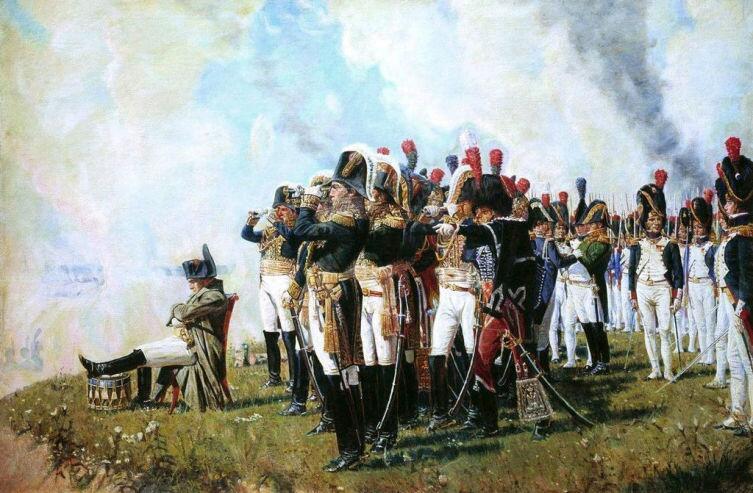 В. Верещагин, «Наполеон на Бородинских высотах», 1897г.