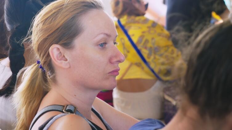 Женщин укачивает чаще, чем мужчин