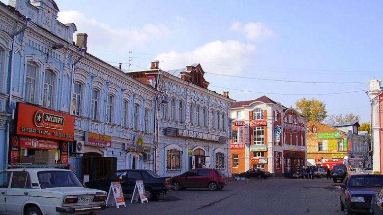 Павлово, центр города
