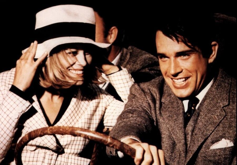 Кадр из фильма «Бонни и Клайд», режиссер Артур Пенн, 1967 г.