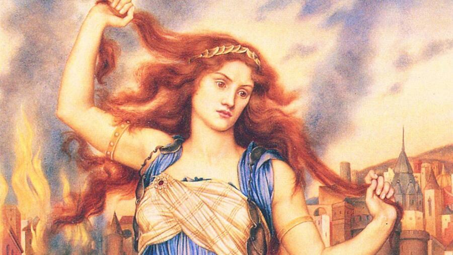 Кассандра - троянская царевна, обладавшая даром предвидения