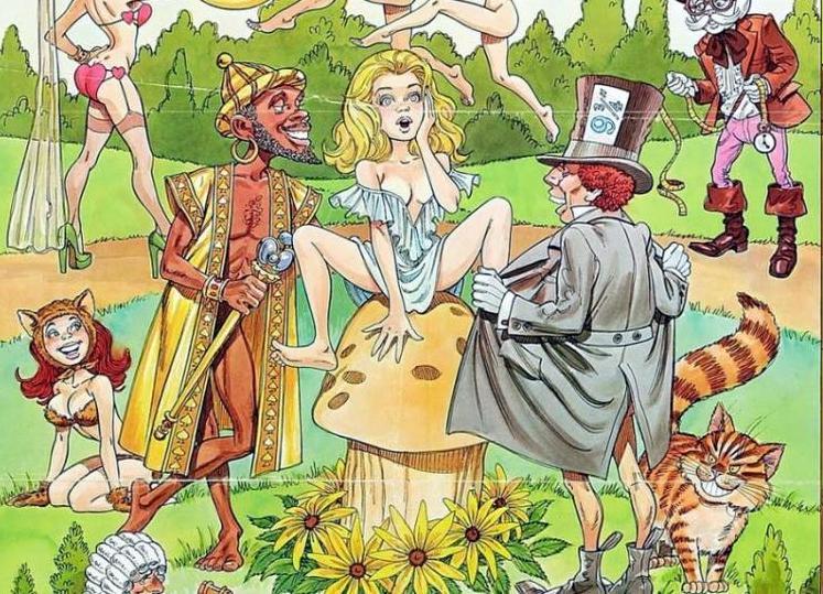 Приключения Девушки Алисы На Большом Члене Молодого Парня