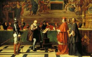 Галилео Галилей отрекся от своей доктрины, но смирился ли?