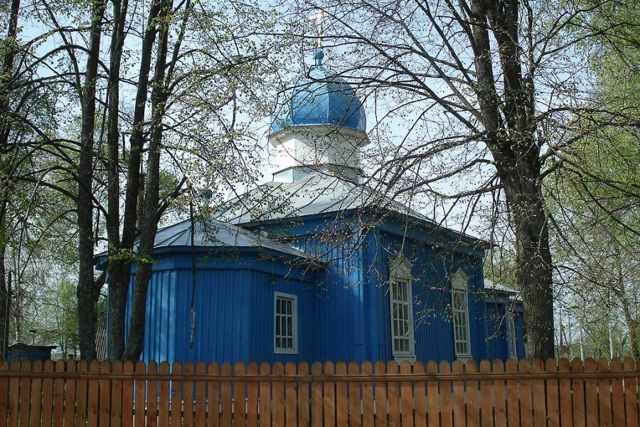 Посёлок Шувое, Гуслицы, Московская область. Старообрядческая Троицкая церковь