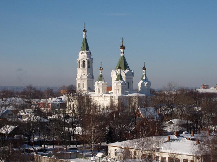 Соборный храм Александра Невского в Егорьевске