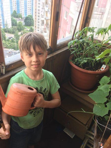 Юный овощевод-инициативник
