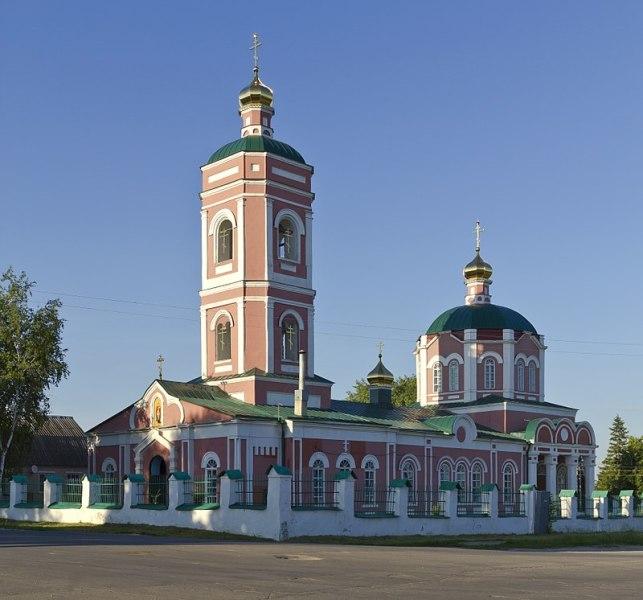 Георгиевская церковь в Данкове