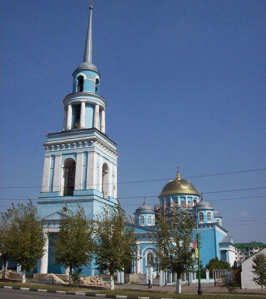 Ново-Казанский собор в Лебедяни