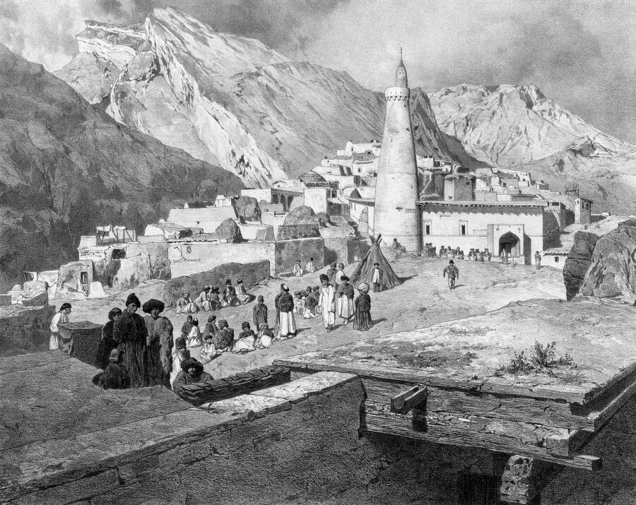 Курды - горное племя, не знавшее письменности