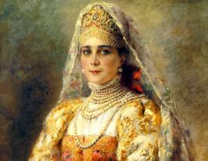 Каким был идеал женской красоты на Руси?