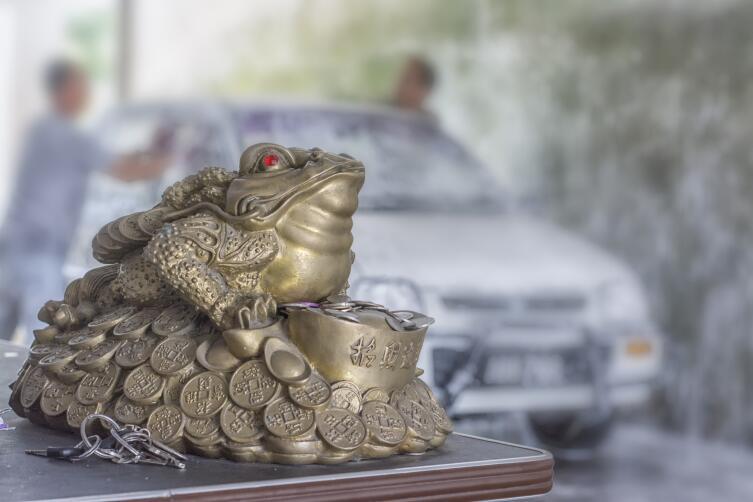 Фэн-шуйная жаба вряд ли сделает человека миллионером