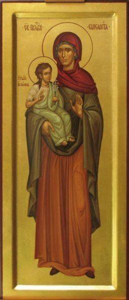 Святая Елизавета и Иоанн Креститель