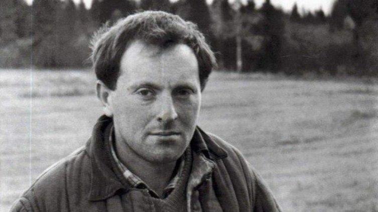 Иосиф Бродский в ссылке на поселении в Архангельской области, 1965 г.