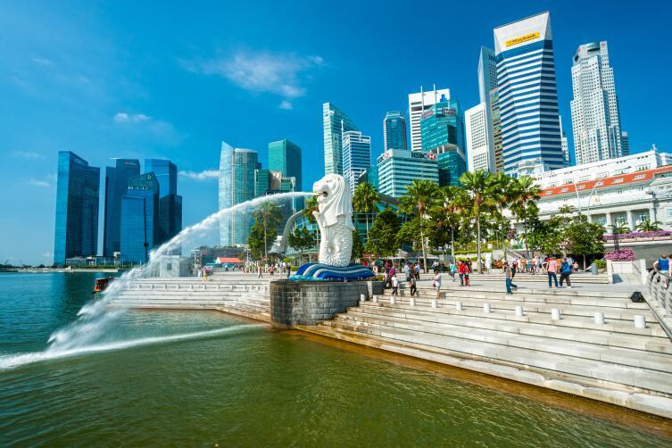 Гуляя по Сингапуру, откажитесь от жвачки