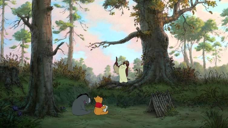 Лес из сериала