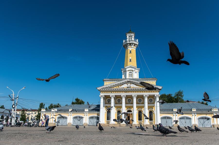 Пожарная смотровая башня в Костроме