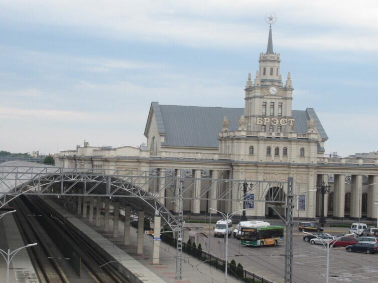 Брест, вокзал