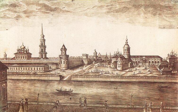 Тула на гравюре 1807 г.