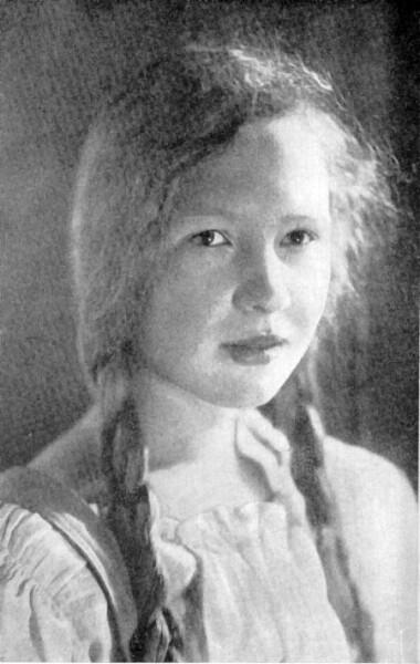 Юная Ольга Берггольц