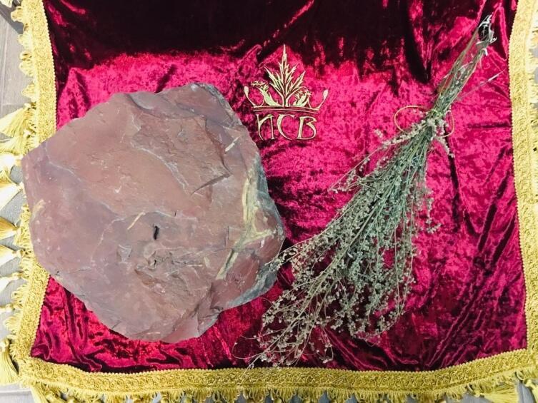 Чудо-камень Ра, природная красная яшма. Обладает уникальной силой