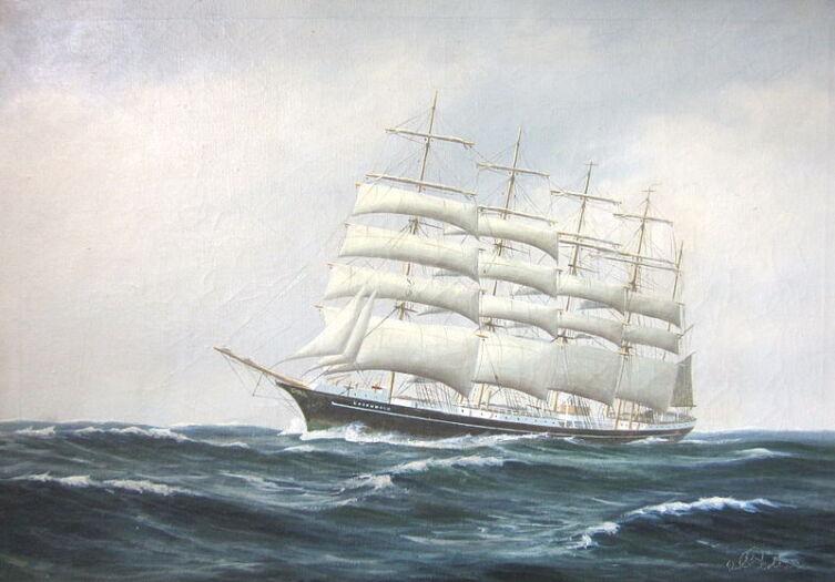 «Копенгаген» на картине Педра Кристиана Педершена