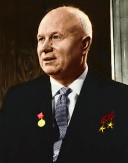 Никита Хрущев в 1960 г.