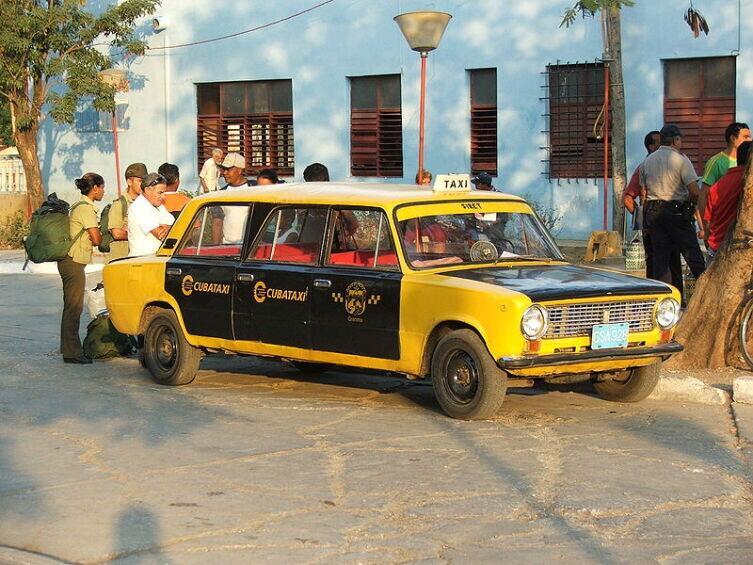 Лимузин на базе ВАЗ-2101, Куба