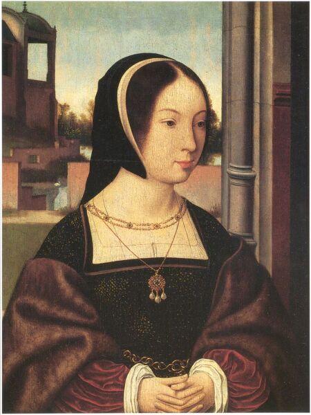 Анна Бретонская, супруга Карла VIII
