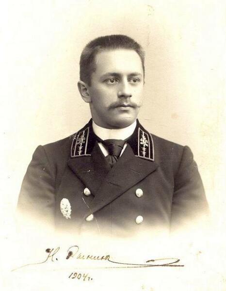 Николай Рынин, 1904 г