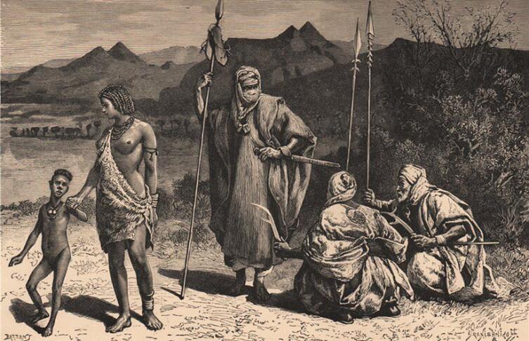 Неразгаданные тайны. За счет чего племя тубу выживает в Сахаре?