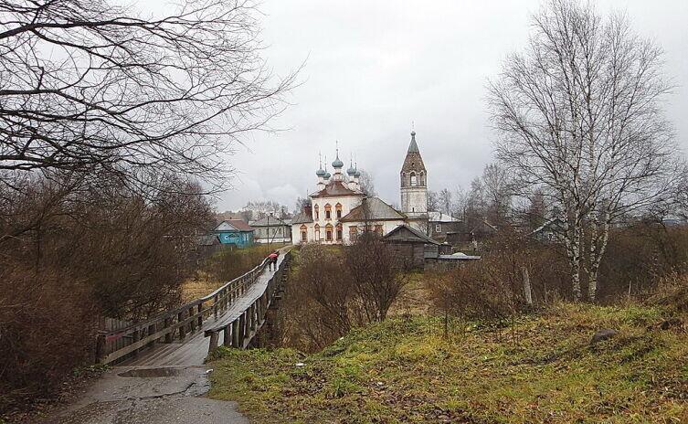 Церковь в г. Уст.жна