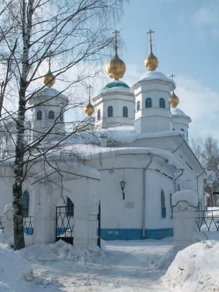 Воскресенский собор г. Череповца
