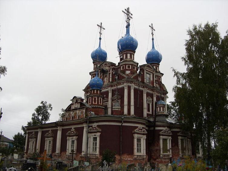 Казанская церковь в Устюжне