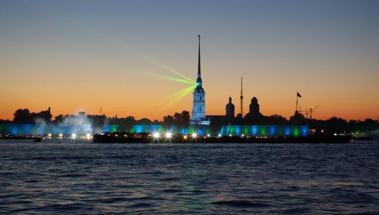 Лазерное шоу в Санкт-Петербурге