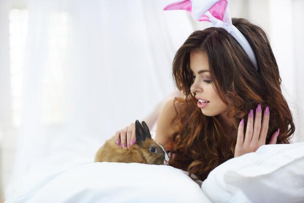 Разжигают ли кролики вожделение? История появления Рэбика