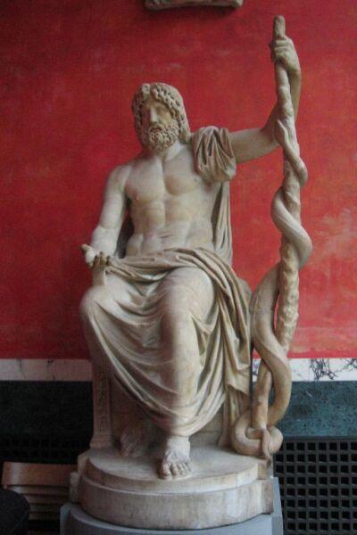 Асклепий, бог медицины и врачевания