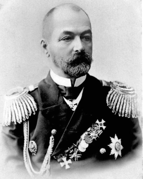 Адмирал Зиновий Петрович Рожественский