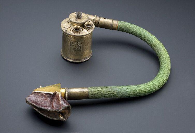 Ингалятор для анестезии хлороформом, Англия, 1866—1885 гг.