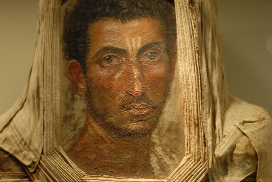 Портрет бородатого мужчины, Эдинбург, Королевский музей Шотландии