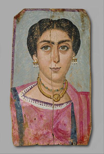 Женщина с ожерельем. Музей истории искусств, Вена