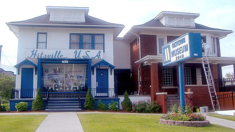 Музей Motown в Детройте — здание Hitsville USA