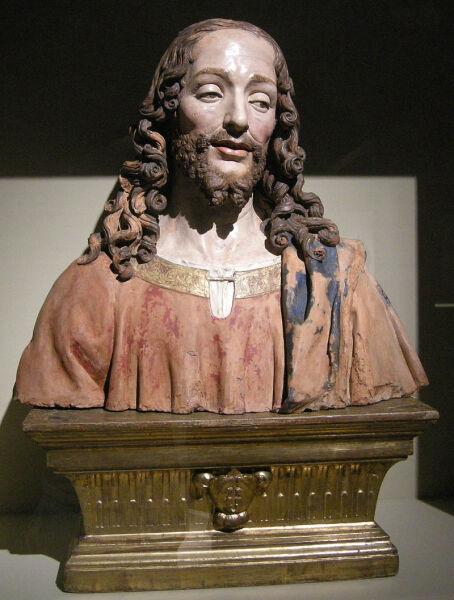 Статуя Иисуса работы Пьетро Торриджано, ок. 1500 г.