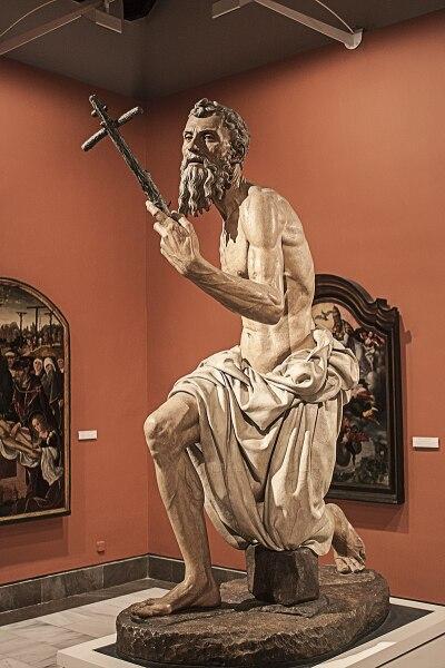 Святой Иероним работы Пьетро Торриджано