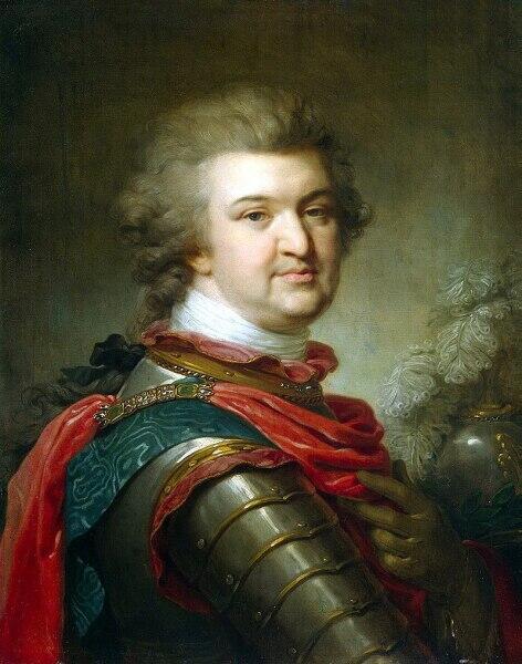 Потёмкин незадолго до смерти, апрель 1791 г.