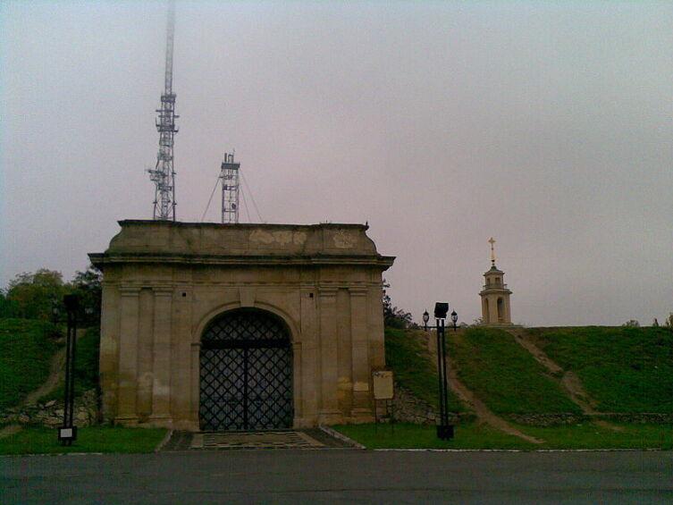 Очаковские ворота и крепостные валы, 1784 г.