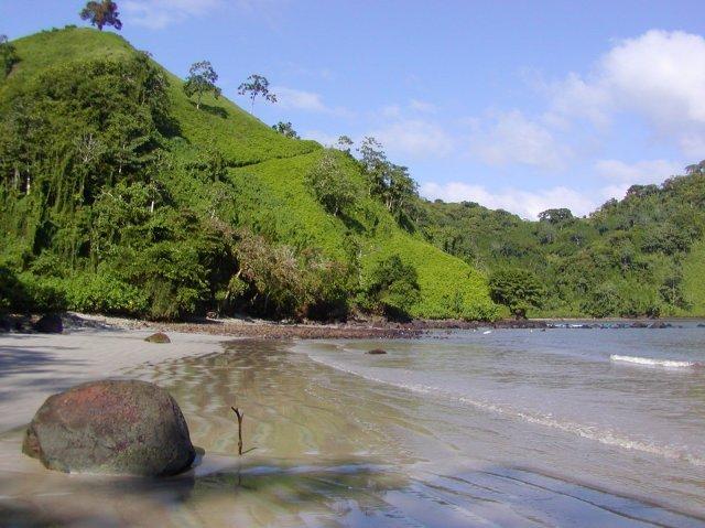 Бухта Чатам на острове Кокос