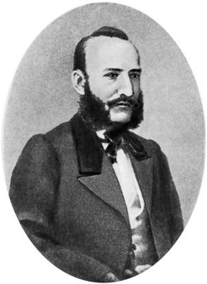 А. Н. Афанасьев, портрет до 1871 г.