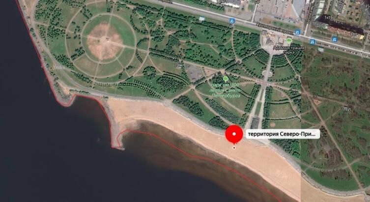 Парк имени 300-летия Петербурга