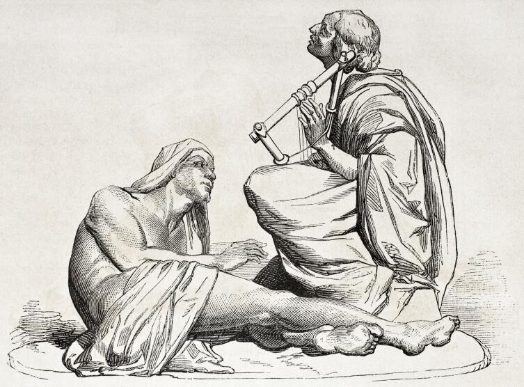 Бербер играет на лире